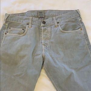 Men's true religion grey jeans